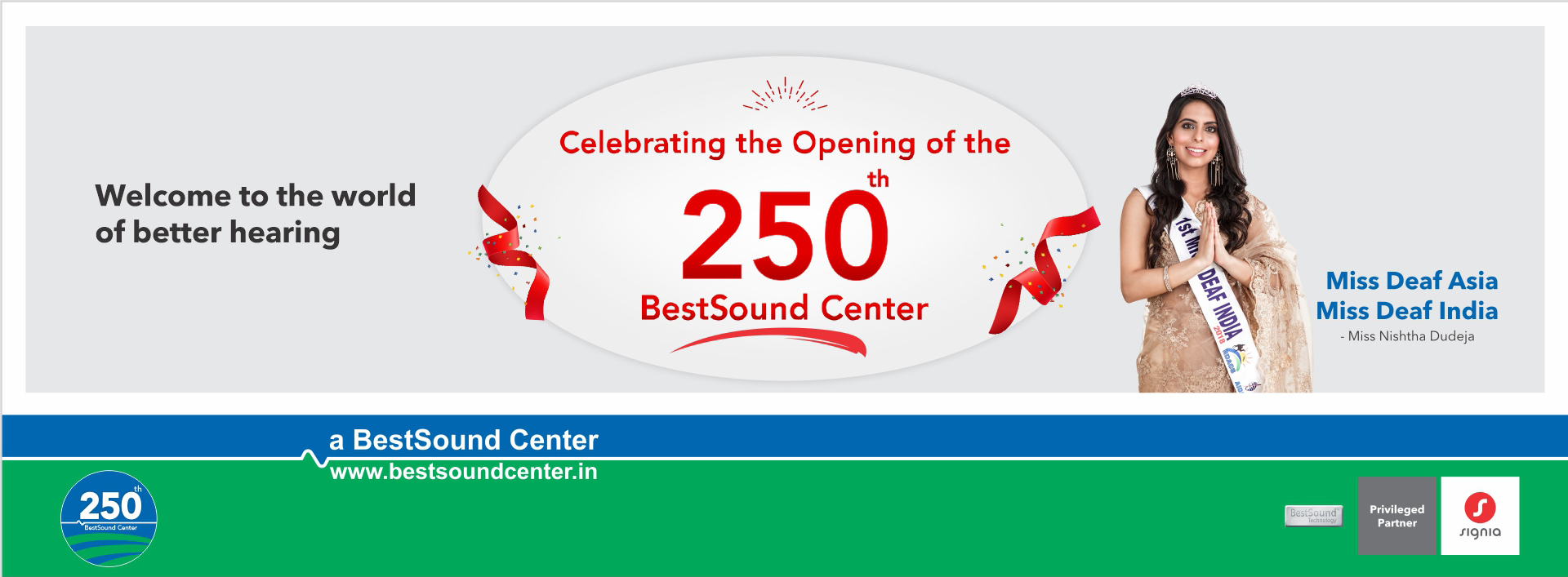 Celebrating the Opening of the 250th Bestsound center Home Banner